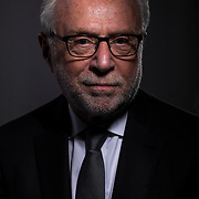 Portrait of Wolf Blitzer who is our commencement speaker on the campus of Utah Valley University Thursday May 3, 2018. (August Miller, UVU Marketing)