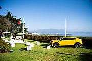 August 15, 2019:  Monterey Car Week, Lamborghini Lounge Mansion at Pebble Beach, Urus