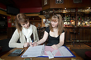 United Kingdom. Norfolk. Blueberry Pub. Mixed Skills course involving Maths and English..Photo©Steve Forrest/Workers Photos