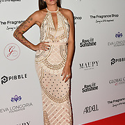 Jessica Pires Arrivers at The Global Gift Gala red carpet - Eva Longoria hosts annual fundraiser in aid of Rays Of Sunshine, Eva Longoria Foundation and Global Gift Foundation on 2 November 2018 at The Rosewood Hotel, London, UK. Credit: Picture Capital