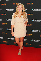 © Licensed to London News Pictures. 25/09/2013, UK. Chemmy Alcott. Bear Grylls: Escape From Hell - launch party, Battersea Power Station, London UK, September 25. Photo credit : Richard Goldschmidt/Piqtured/LNP