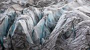Detail of the glacier at Svínafellsjökull, south-east Iceland