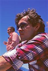 Walter Winzer & Hiam in Background