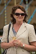Henley Royal Regatta, Henley on Thames, Oxfordshire, 3-7 July 2013.  Wednesday  12:12:14   03/07/2013  [Mandatory Credit/Intersport Images]<br /> <br /> Rowing, Henley Reach, Henley Royal Regatta.<br /> <br /> Happy spectator at Henley
