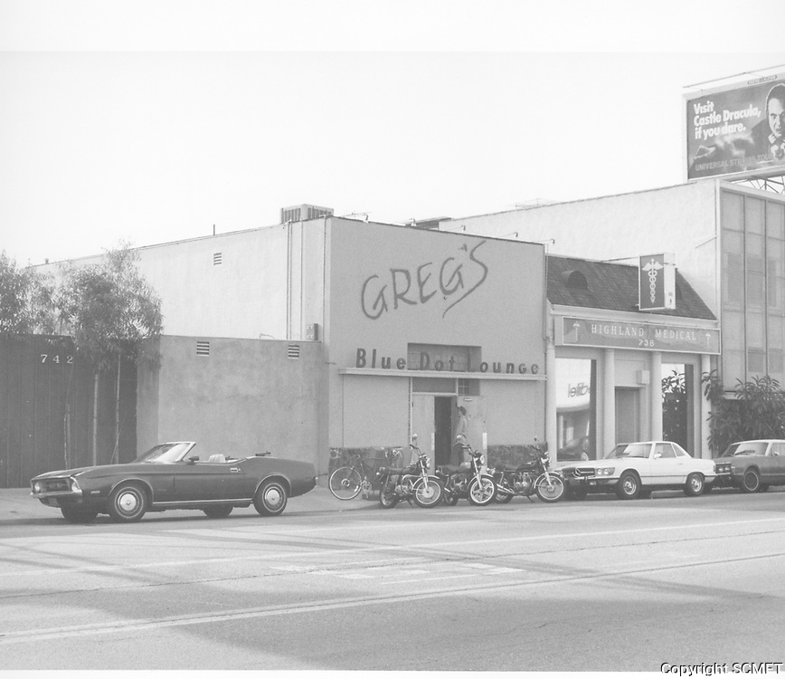 1980 Greg's Blue Dot Lounge on Highland Ave.