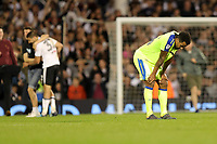 LONDON, ENGLAND - MAY 14:LONDON, ENGLAND - MAY 14:Derby's Tom Huddlestone is disappointed at the end of the match