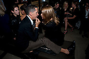 CARINE ROITFELD; STEFANO TONCHI, Afterparty for Burberry  Spring/Summer 2010 Show. Horseferry House. Horseferry Rd. London sW1.  London Fashion Week.  22 September 2009.