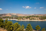 Castaic Lagoon, Castaic Lake State Recreation Area, Los Angeles County, California, USA