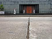 Vietnam, Hanoi: Ho Chi Min mausoleum.