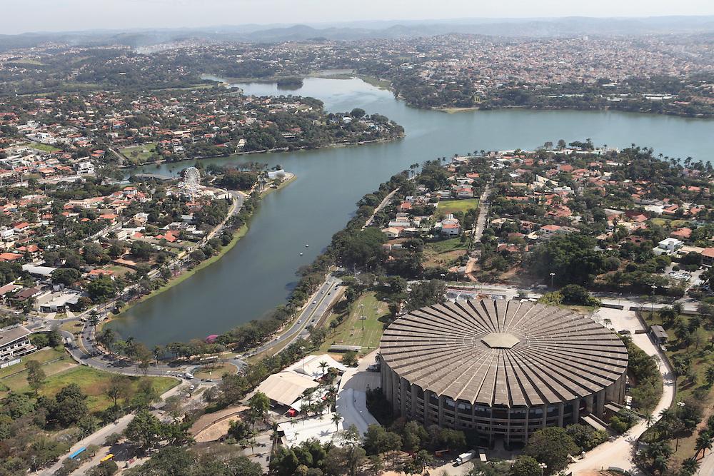 Belo Horizonte_MG, Brasil.<br /> <br /> Mineirinho em primeiro plano e Lagoa da Pampulha ao fundo em Belo Horizonte, Minas Gerais.<br /> <br /> Mineirinho and in the background Pampulha lake in Belo Horizonte, Minas Gerais.<br /> <br /> Foto: RODRIGO LIMA / NITRO