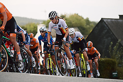 Franziska Koch (GER) at the 2020 UEC Road European Championships - Under 23 Women Road Race, a 81.9 km road race in Plouay, France on August 26, 2020. Photo by Sean Robinson/velofocus.com