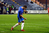 John Rooney. Stockport County FC 4-0 Chesterfield FC. Emirates FA Cup. 4.11.20