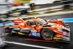 April 13, 2018 - Le Castellet, France - 40 G DRIVE RACING (RUS) ORECA 07 GIBSON LMP2 JAMES ALLEN (AUS) ENZO GUIBBERT (FRA) JOSE GUTIERREZ  (Credit Image: © Panoramic via ZUMA Press)