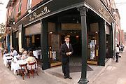 Christophe Des-Carpentries, owner of Le Deauville, in Lexington, Ky., for PREP Magazine.