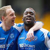 St Johnstone FC March 2013