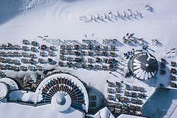 THEMENBILD - Übersicht am Skigebiet Kitzsteinhorn, aufgenommen am 21. Oktober 2020 in Kaprun, Österreich // General View of the Kitzsteinhorn ski resort, Kaprun, Austria on 2020/10/21. EXPA Pictures © 2020, PhotoCredit: EXPA/ JFK