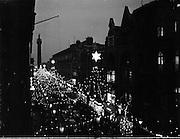 Christmas Lights .15/12/1958.