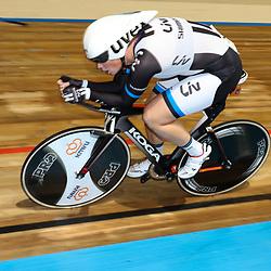 28-12-2014: Wielrennen: NK Baanwielrennen: Apeldoorn Kirsten Wild pakt de titel op de achtervolging bij de vrouwen