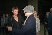 CORNELIA PARKER; RON ARAD, The Tanks at Tate Modern, opening. Tate Modern, Bankside, London, 16 July 2012