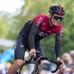 EMMEN (NED) wielrennen <br />Dylan van Baarle (Ineos)