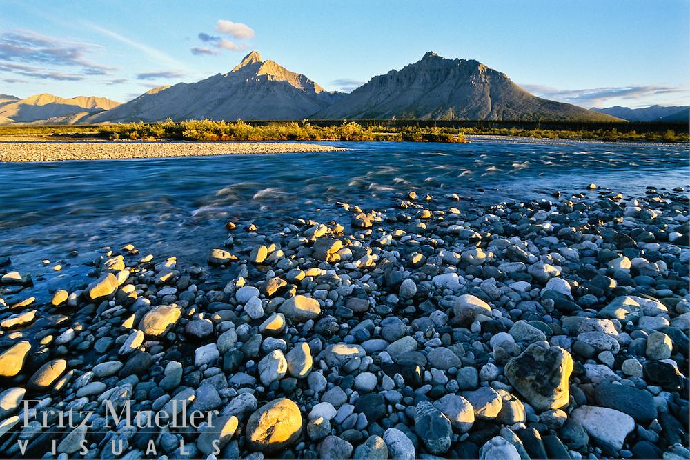 Royal Mountain on the Wind River, Yukon