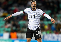 LJUBLJANA, SLOVENIA - JUNE 06: Lukas Nmecha of Germany reacts during the 2021 UEFA European Under-21 Championship Final match between Germany and Portugal at Stadion Stozice on June 06, 2021 in Ljubljana, Slovenia. Photo by Grega Valancic / Sportida