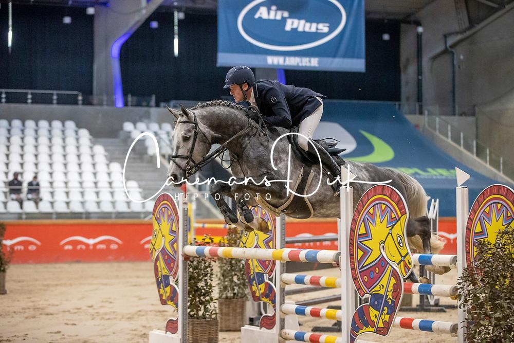Vinckx Wim, BEL, Cor vd Kattevennen Z<br /> Pavo Hengsten competitie - Oudsbergen 2021<br /> © Hippo Foto - Dirk Caremans<br />  22/02/2021