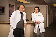 Medical portrait at the Hematology and Oncology Department at Cheyenne Regional Medical Center in Cheyenne, Wyoming.