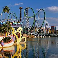 USA, Florida, Orlando. Universal Islands of Adventure Theme Park.