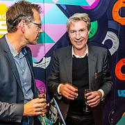 NLD/Hilversum/20170411 - NPO Radio 5 Oeuvre Award bekendmaking aan Frank Boeijen met Bert Kranenbarg