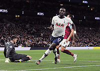 Football - 2019 / 2020 Premier League - Tottenham Hotspur vs. Burnley<br /> <br /> Moussa Sissoko of Spurs celebrates scoring goal no 5  at the Tottenham Hotspur Stadium.<br /> <br /> COLORSPORT/ANDREW COWIE