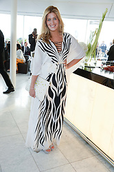 FRANCESCA HULL at the launch of the Odabash Macdonald Resort 2014 swimwear collection at ME Hotel, London on 25th June 2013.