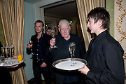 RICHARD GRIFFITHS;, The South Bank Sky Arts Awards , The Dorchester Hotel, Park Lane, London. January 25, 2011,-DO NOT ARCHIVE-© Copyright Photograph by Dafydd Jones. 248 Clapham Rd. London SW9 0PZ. Tel 0207 820 0771. www.dafjones.com.