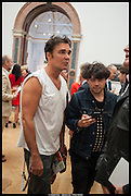 DAVID LACHAPELLE; ; HUGO MARTINEZ;, Royal Academy of Arts Summer Exhibition 2014. Piccadilly. London. 4 June 2014.