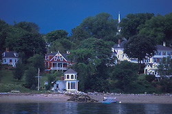 From the Water, Castine, Maine, US