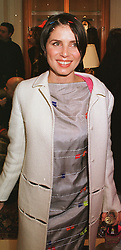 MISS SADIE FROST at a party in London on 23rd February 1999.MOO 117