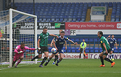Eoghan O'Connell of Rochdale makes a clearance - Mandatory by-line: Arron Gent/JMP - 26/09/2020 - FOOTBALL - Portman Road - Ipswich, England - Ipswich Town v Rochdale - Sky Bet League One