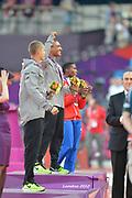 Olympic Stadium, Stratford, London, United Kingdom<br /> <br /> Description:<br /> <br /> 2012 London Olympic, Athletics, <br /> . <br /> <br /> 19:31:16  Friday  10/08/2012 [Mandatory Credit: Peter Spurrier/Intersport Images]