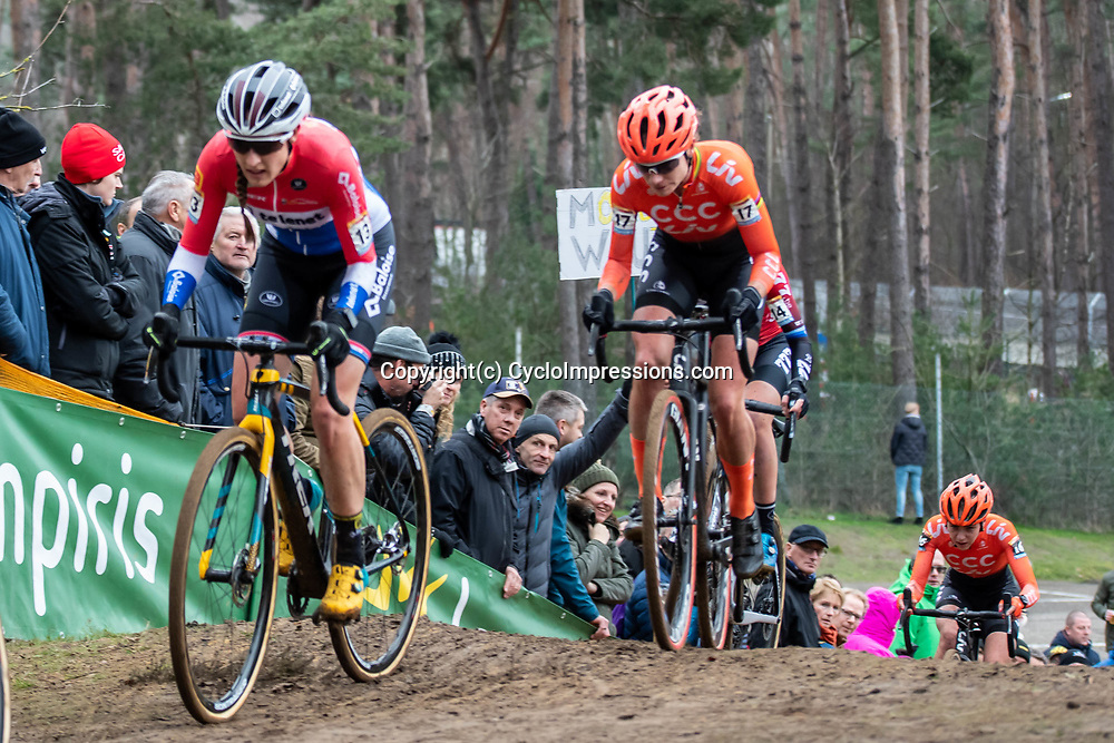 26-12-2019: Cycling: CX Worldcup: Heusden-Zolder: Marianne Vos trying to gain a podium spot
