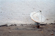 A television receiver in the village of Catal Koy, near Diyarbakir, in eastern Turkey. Television allowed villagers to see a world beyond their semi-feudal system when it first arrived.