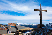 Crucifix, Les Angles, Pyrenees Orientales, France