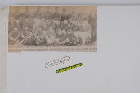 Tipperary Minor Hurling Team 1933, All-Ireland Final, John Moloney, Jim Mooney, Tom Doyle (Thurles), Matty Ryan, Michael Condon (Moycarkey), Mick Everard (Templetuohy), Pat Duggan (Glengoole), Phil Dwyer (Boherlahan), Anthony Brennan (Clonoulty), Pat Fraser (Tipperary), Mick Burke (Cashel), John Farrell (Fethard), Pat Callaghan (Carrick), Tim Maher, Joe Fletcher (Roscrea),
