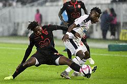 October 28, 2018 - Bordeaux, France - 05 ADRIEN TAMEZE (NICE) - 10 SAMUEL KALU  (Credit Image: © Panoramic via ZUMA Press)
