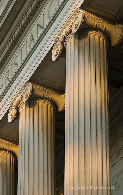 Columns of the National City Christian Church, Washington, DC