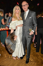 AMANDA CRONIN and MARK DAECHE at an Evening of Riviera Inspired Glamour in aid of CLIC Sargentheld at Sketch, 9 Conduit Street, London on 25th January 2016.