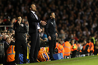 LONDON, ENGLAND - MAY 14:LONDON, ENGLAND - MAY 14:Derby manager, Gary Rowett, on the touchline at Fulham