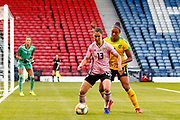 Jane ROSS (West Ham United WFC (ENG)) of Scotland during the International Friendly match between Scotland Women and Jamaica Women at Hampden Park, Glasgow, United Kingdom on 28 May 2019.