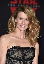 Laura Dern attends the world premiere of Disney Pictures and Lucasfilm's 'Star Wars: The Last Jedi' at The Shrine Auditorium on December 9, 2017 in Los Angeles, CA, USA. Photo by Lionel Hahn/ABACAPRESS.COM