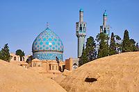 Iran, province de Kerman, Mahan, tombe du soufi Shah Nematollah Wali // Iran, Kerman province, Mahan, tomb of sufi Shah Nematollah Wali