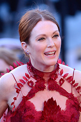 Julianne Moore arriving at Les Fantomes d'Ismael screening and opening ceremony held at the Palais Des Festivals in Cannes, France on May 17, 2017, as part of the 70th Cannes Film Festival. Photo by Aurore Marechal/ABACAPRESS.COM